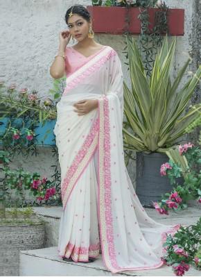 Catchy Silk Festival Traditional Designer Saree
