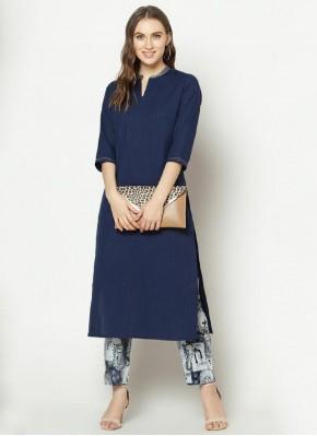 Celestial Blue Designer Kurti