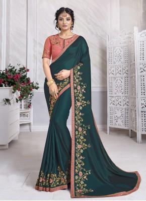 Celestial Designer Traditional Saree For Festival