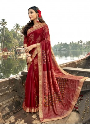 Charming Classic Saree For Ceremonial