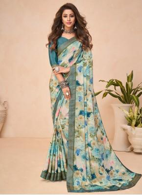 Charming Multi Colour Casual Printed Saree