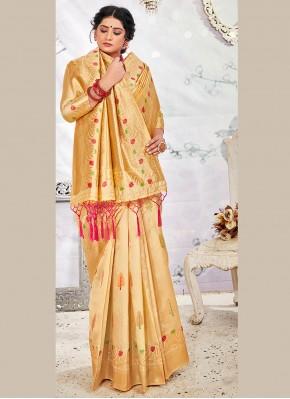 Cherubic Traditional Saree For Wedding