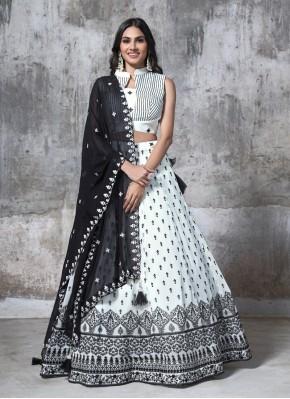 Chiffon Designer Readymade Lehngha Choli for Party