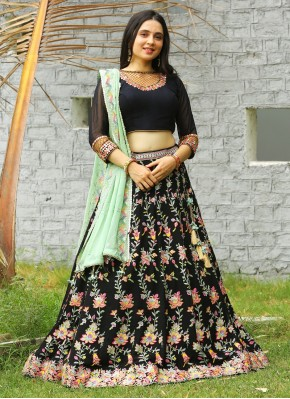 Chiffon Designer Readymade Lehngha Choli in