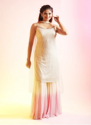 Chiffon Palazzo Suit for Ceremonial