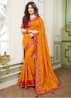 Chitrangada Singh Designer Traditional Saree For Mehndi