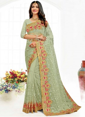 Classical Bollywood Saree For Reception