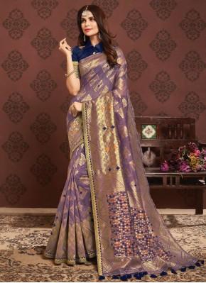 Classy Silk Ceremonial Traditional Saree