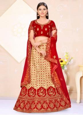 Congenial Banarasi Silk Lehenga Choli