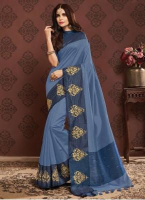 Congenial Weaving Silk Traditional Designer Saree