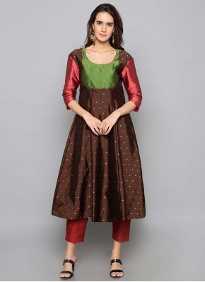 Conspicuous Fancy Art Silk Party Wear Kurti