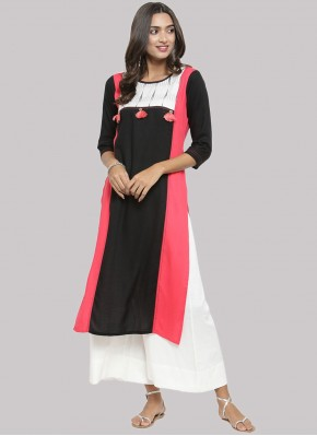 Conspicuous Fancy Rayon Party Wear Kurti