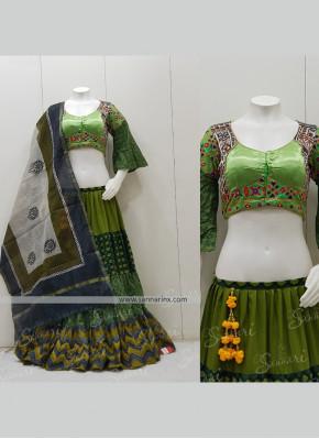 Cotton  Garba Wear Chaniya Choli