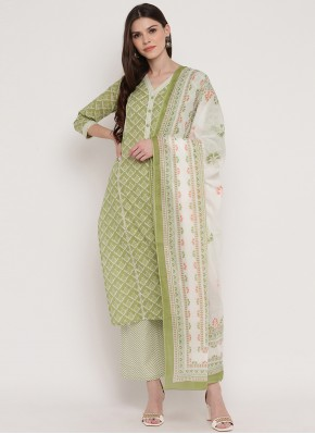 Cotton Green Readymade Suit
