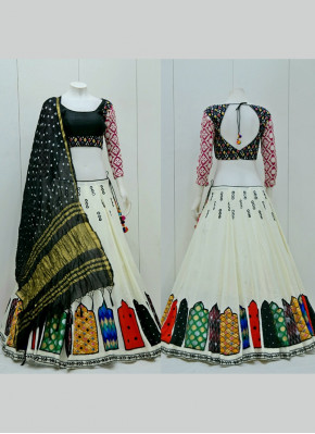 Cotton  Multi Designer Navratri Wear