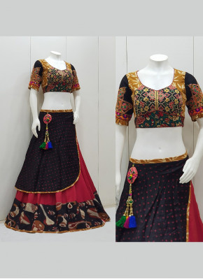 Cotton Silk Garba Wear Chaniya Choli