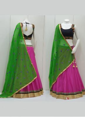 Cotton Silk Lace Garba Chaniya Choli