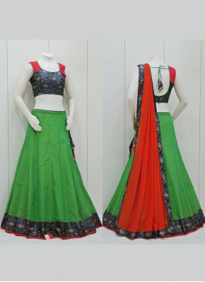 Cotton Silk Simple Chaniya Choli