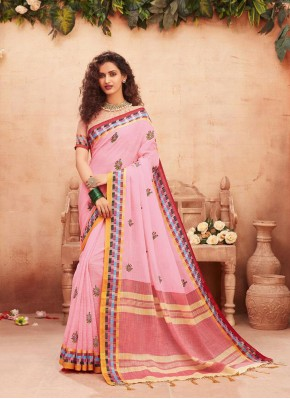 Customary Classic Designer Saree For Festival