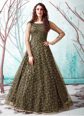 Customary Net Designer Gown