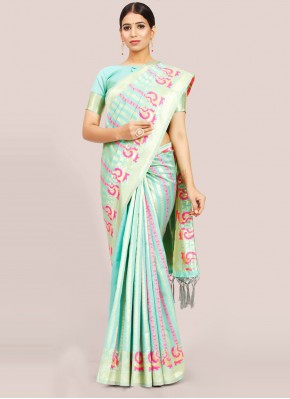 Cute Art Silk Festival Traditional Designer Saree