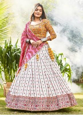 Dainty Chiffon Bollywood Style Lehenga Choli