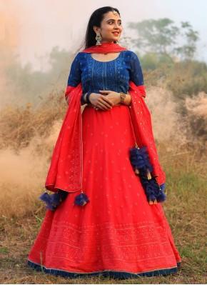 Dazzling Chiffon Readymade Chaniya Choli