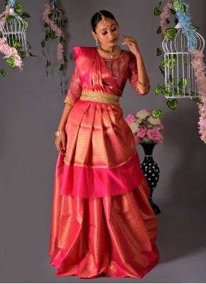 Dazzling Silk Designer Traditional Saree