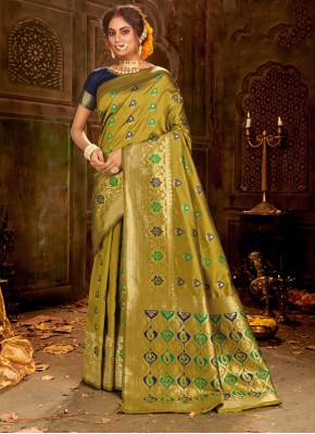 Delightful Traditional Saree For Ceremonial