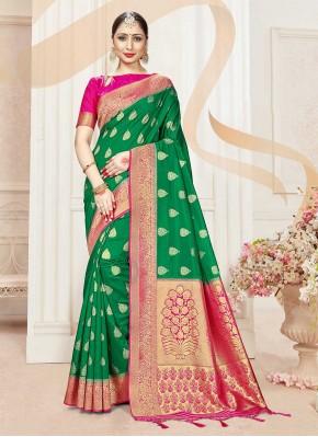 Delightsome Woven Classic Designer Saree