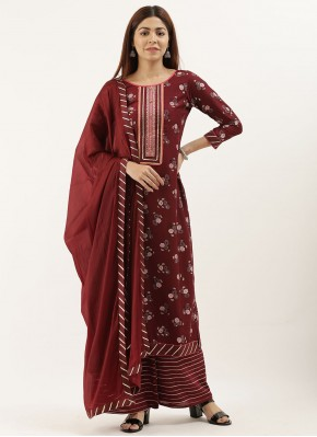 Demure Embroidered Designer Pakistani Suit
