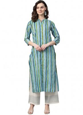 Deserving Blended Cotton Party Wear Kurti