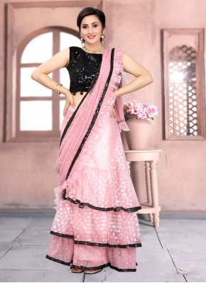 Deserving Embroidered One Minute Saree