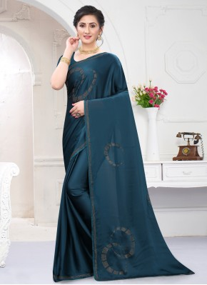 Deserving Stone Work Classic Saree