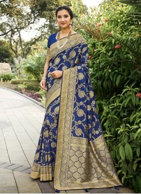 Deserving Swarovski Festival Traditional Designer Saree