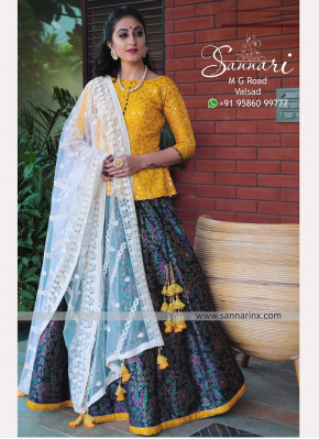 Designer Sangeet Function Wear Fancy Green Color L