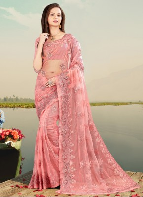 Desirable Net Designer Saree