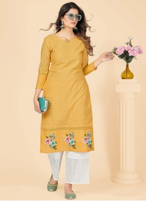 Dignified Party Wear Kurti For Festival