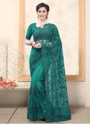 Dilettante Resham Net Classic Designer Saree