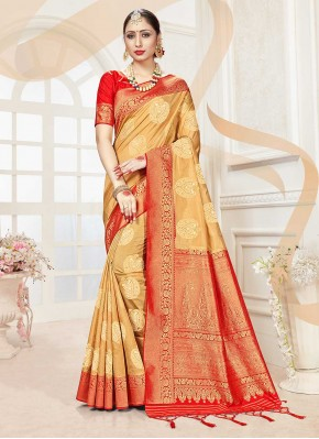 Dilettante Woven Traditional Designer Saree
