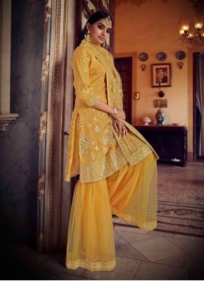 Distinctive Net Designer Pakistani Salwar Suit