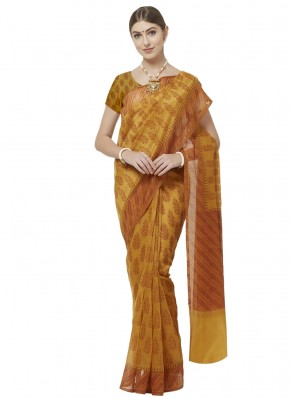 Distinctive Printed Saree For Casual