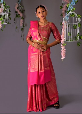 Distinctive Silk Weaving Traditional Designer Saree