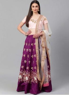 Distinctively Purple Lehenga Choli