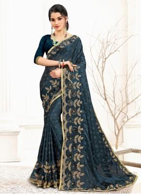 Distinguishable Banglori Silk Sangeet Designer Traditional Saree