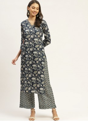 Elegant Cotton Party Wear Kurti