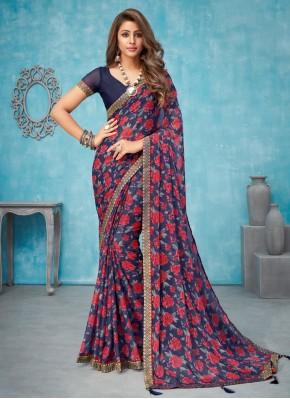Elegant Multi Colour Border Classic Saree