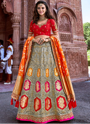 Elite A Line Lehenga Choli For Ceremonial