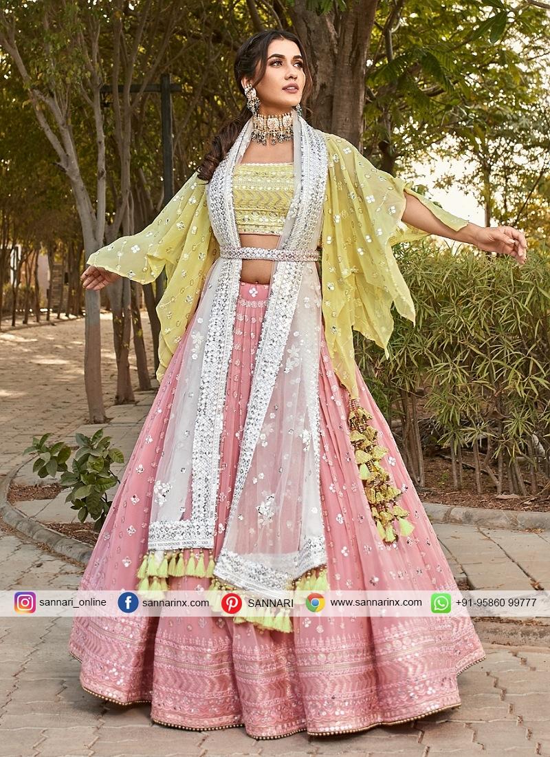 Embroidered Designer Readymade Lehngha Choli