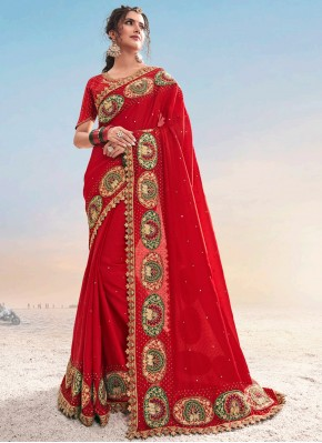 Enchanting Designer Saree For Ceremonial